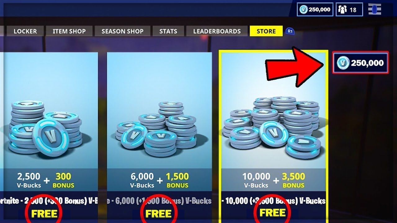 FORTNITE UNLIMITED VBUCKS GLITCH!!!(PS4/XboxOne) $60 ...