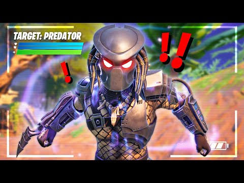 Finding *PREDATOR* BOSS in FORTNITE!