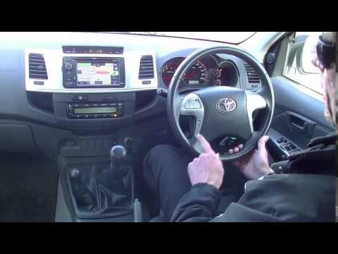 2013 TOYOTA HILUX KUN26R MY12 SR5 DOUBLE CAB REVIEW - B4217