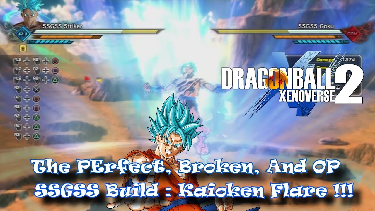 Dragon Ball Xenoverse 2: The Perfect, Broken, and OP SSGSS Build: Kaioken  Flare!! Lvl 99 Stats !!