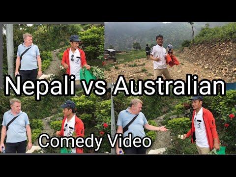 COMEDY | NEPALI V/s AUSTRALIAN | ENGLISH SPEAKING | SHOEL VLOGS |