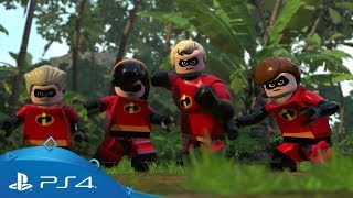 LEGO The Incredibles | Parr Family Trailer | PS4
