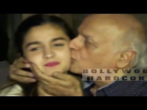 Mahesh Bhatt Kisses Daughter Alia Bhatt and Praises Udta Punjab Team