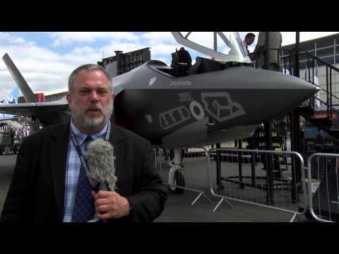 FRANK KENDALL SPEAKS AT FARNBOROUGH 2014 ON F35