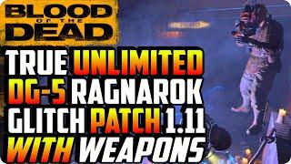 BO4 Zombie Glitches: New Unlimited Ragnarok Glitch With Guns (Patch 1.11) - Blood Of The Dead Glitch