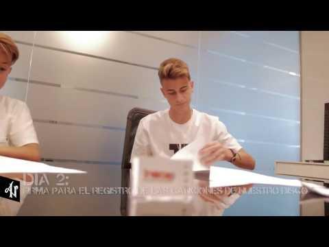 Adexe & Nau - Firman Contrato con Sony Music Latin