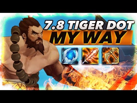 7.8 New Tiger Dot Udyr My Way - Trick2G
