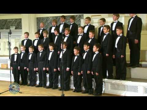 Stabat Mater (V. Sinenko) - Moscow Boys' Choir DEBUT
