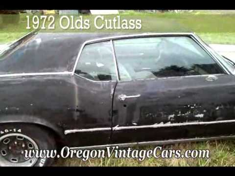 1972 Oldsmobile Cutlass for sale - YouTube