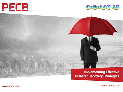 Implementing Effective Disaster Recovery Strategies