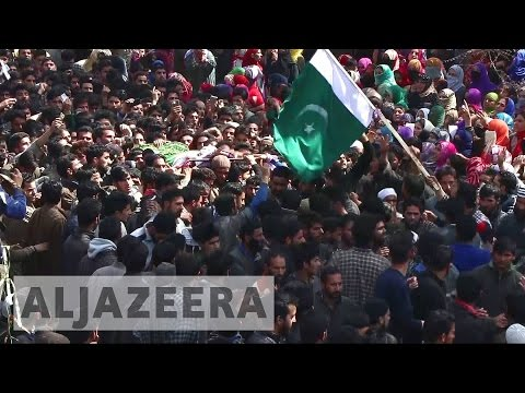 Funeral held in Kashmir for slain separatist
