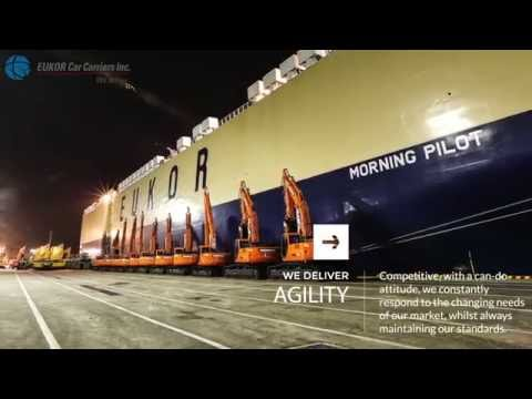 EUKOR Car Carriers with Narration [Official Video]