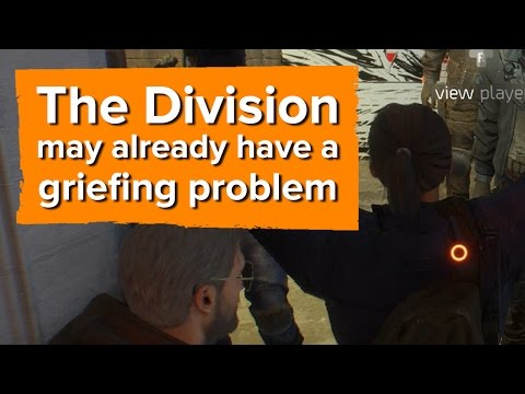 Ubisoft, you may want to stop people from doing this in The Division