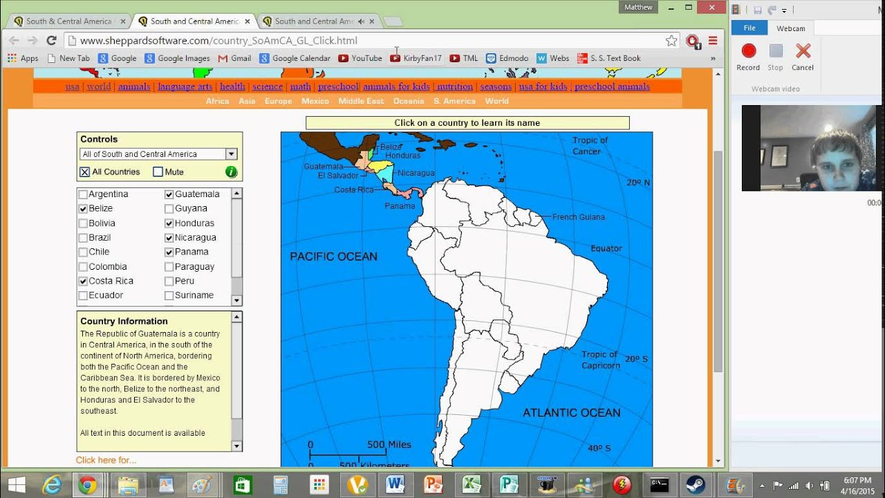 Impossumbrero Levels Sheppard Software Rageography Games - Sheppard software us map