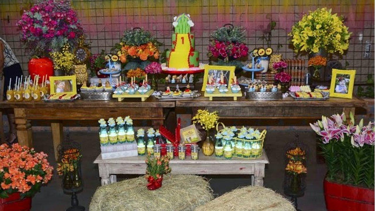 Montagem E Decoração De Festas Infantis Mesa Central Cursos Cpt