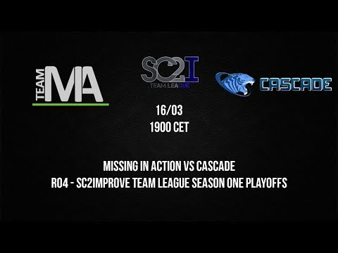 [SC2ITL] Playoffs RO4 - Missing In Action vs Cascade - Game 1