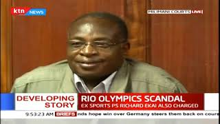 Four officials arraigned in court over the Rio Olympics scandal