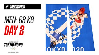 TAEKWONDO - Men - 68 kg- Final | Day 2 - Highlight