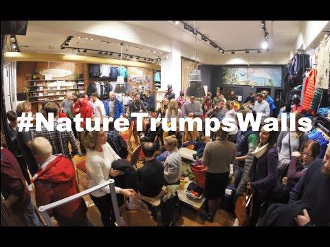 Nature Trumps Walls | Patagonia Dublin Instore