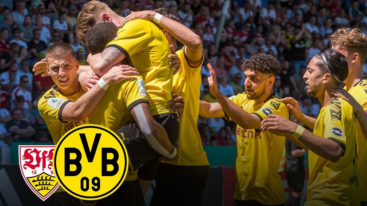 German Champions Vfb Stuttgart Vs Bvb 3 5 Full Game Final Under 19 S German Championship