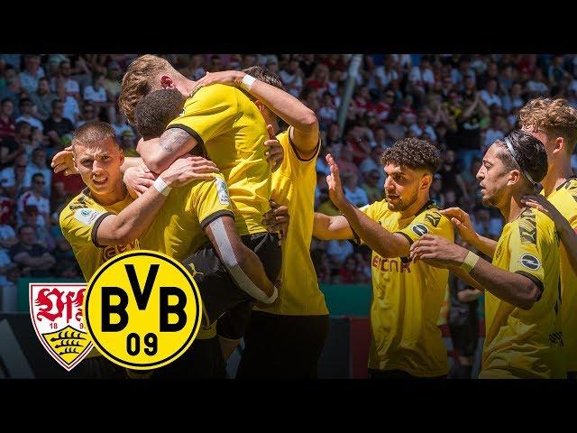 German champions! |VfB Stuttgart - BVB 3:5 | Full Game | Final - Under 19s German Championship