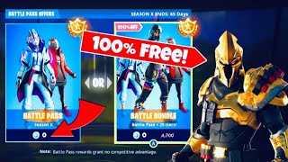 *NEW* FORTNITE SEASON 10 BATTLE PASS GLITCH (NOT CLICKBAIT)
