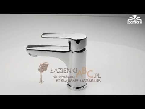 Bateria umywalkowa stojąca bez korka z eko głowicą Energy & Water Saving Paffoni RED 071CR-EWS