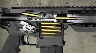 Como Funciona un Fusil AR-15 / Zona Militar
