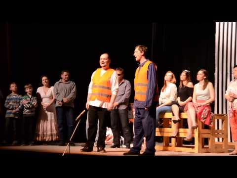 CAESAR V+W - Divadlo Brod - premiéra 10. 4. 2014 - DK Uherský Brod