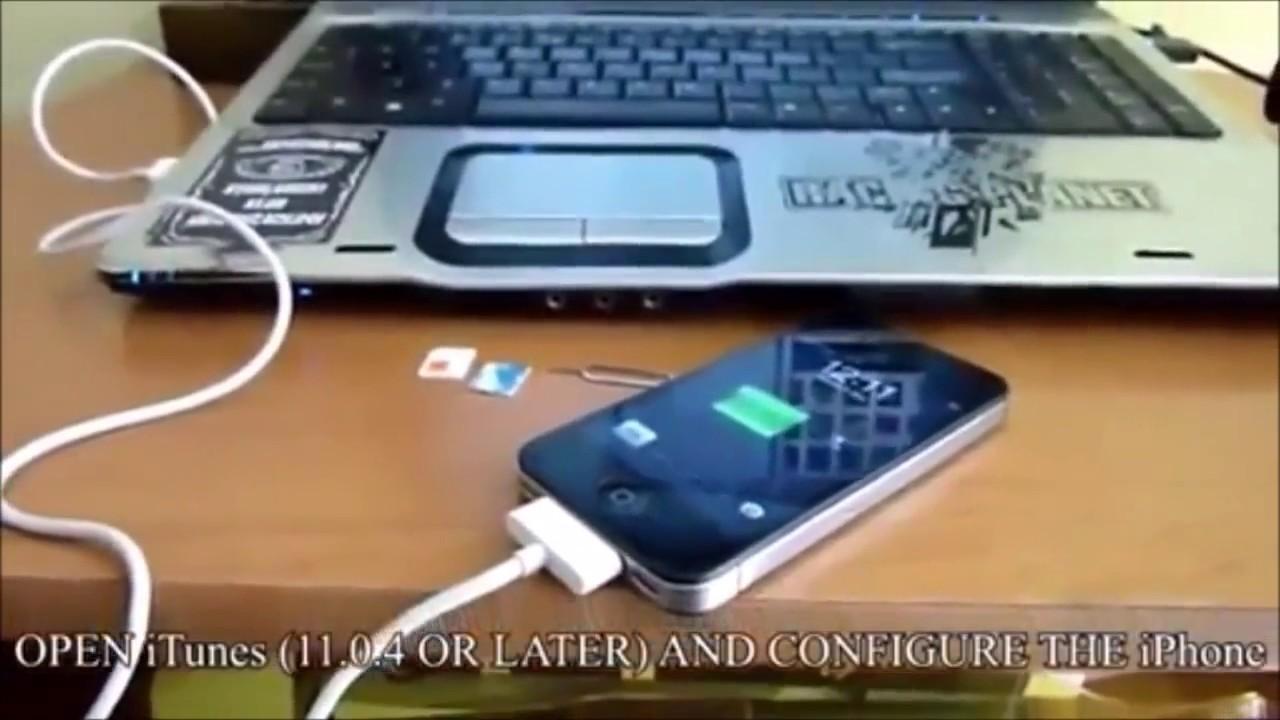 unlock iphone 4 free