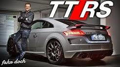 AUDI TT RS 2019   Legendärer R5 Zylinder Turbo für 100.000€ ? Review und Fahrbericht   Fahr doch