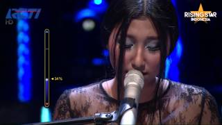 "Reyna Qotrunnada ""Creep"" Radiohead - Rising Star Indonesia Great 8 Eps 20"