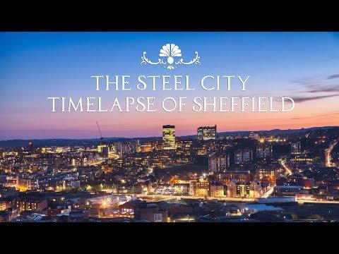 The Steel City / Sheffield 4K UHD Timelapse