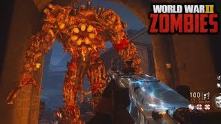 WW2 ZOMBIES - FULL MAIN EASTER EGG HUNT GAMEPLAY!!! (Call of Duty WW2 Zombies)