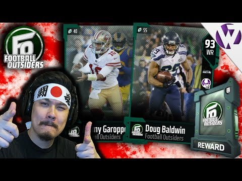 NEW FOOTBALL OUTSIDERS ft. FO JIMMY GAROPPOLO AND MORE! - Madden 18 Football Outsiders Pack Opening