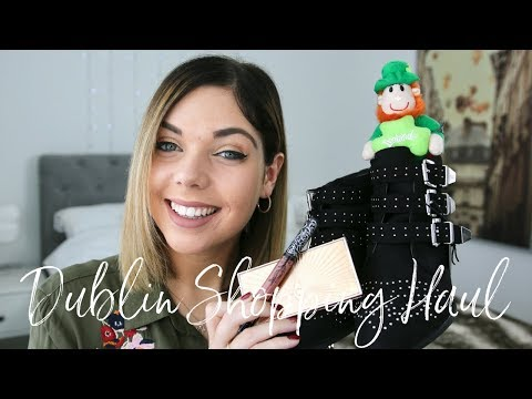 DUBLIN SHOPPING HAUL | Emma Mumford