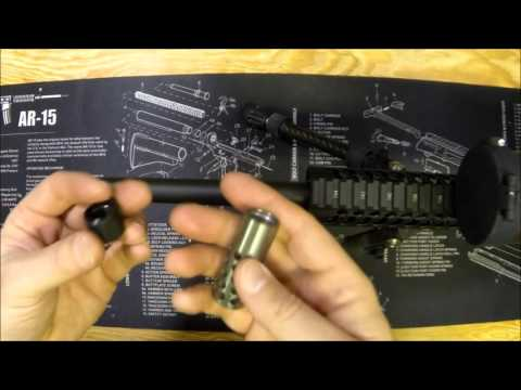 Titanium Gun Parts Muzzle Brake for Ruger Precision Rifle