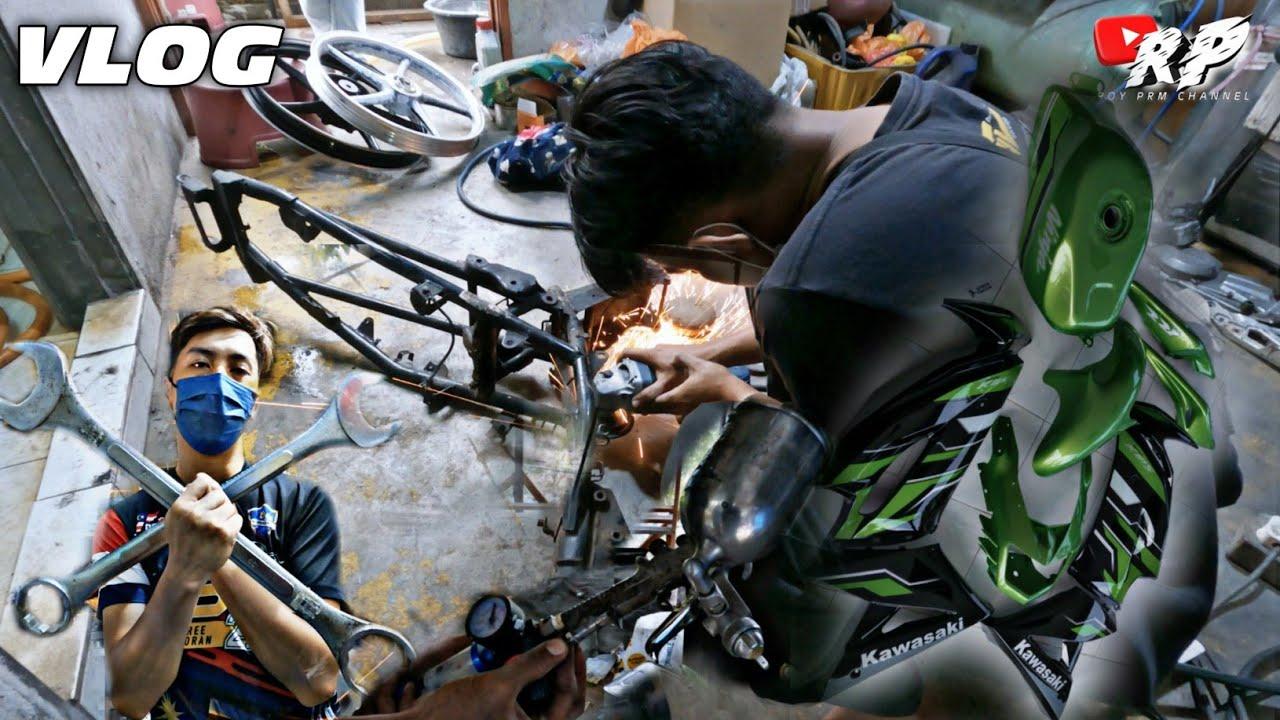 Repair body lc | aku beli barang cat untuk project lc v1 | check baby