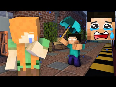 Monster School : HEROBRINE GIRLFRIEND - FUNNY MINECRAFT ANIMATION