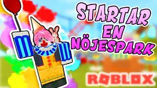 Opens an amusement park! 🎡 Roblox English