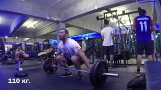 Берестов Дмитрий. Тренировка в Тайланде 15.02.2017 год