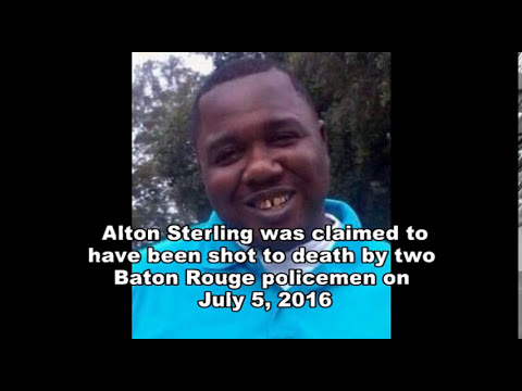 Raw uncut video of the Alton Sterling shooting