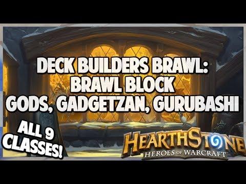 Brawl Block: Gods, Gadgetzan, Gurubashi   Deck Builders Brawl   Hearthstone