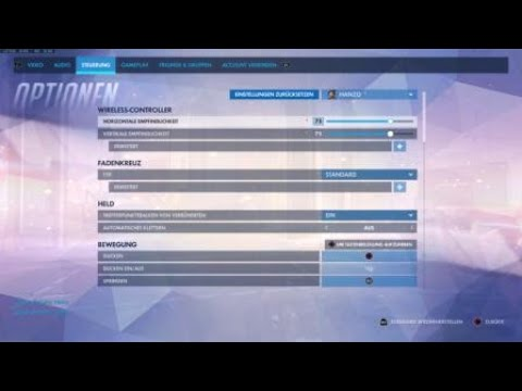 Overwatch Best Hanzo CONSOLE SETTINGS!