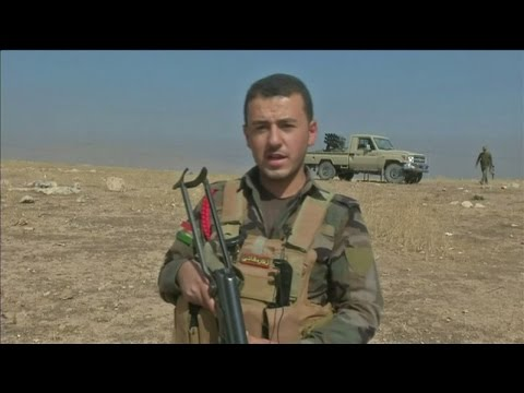 Iraq: On the frontline of the Mosul Battle with Kurdish peshmerga fighters