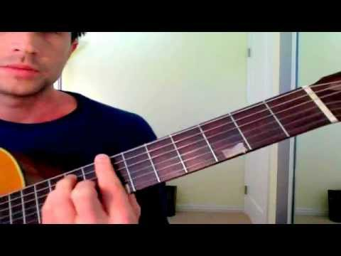 "Pixies ""Where is My Mind"" CHORDS (E, C#m, G#, A, Am, B) - Lesson by Brett Sanders)"