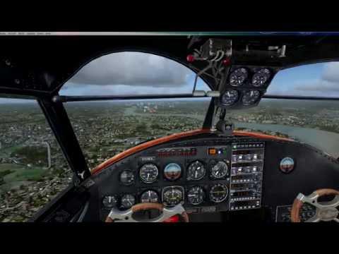 FSX Grumman Goose World Flight - Leg 5 (BIKF-EGLC)