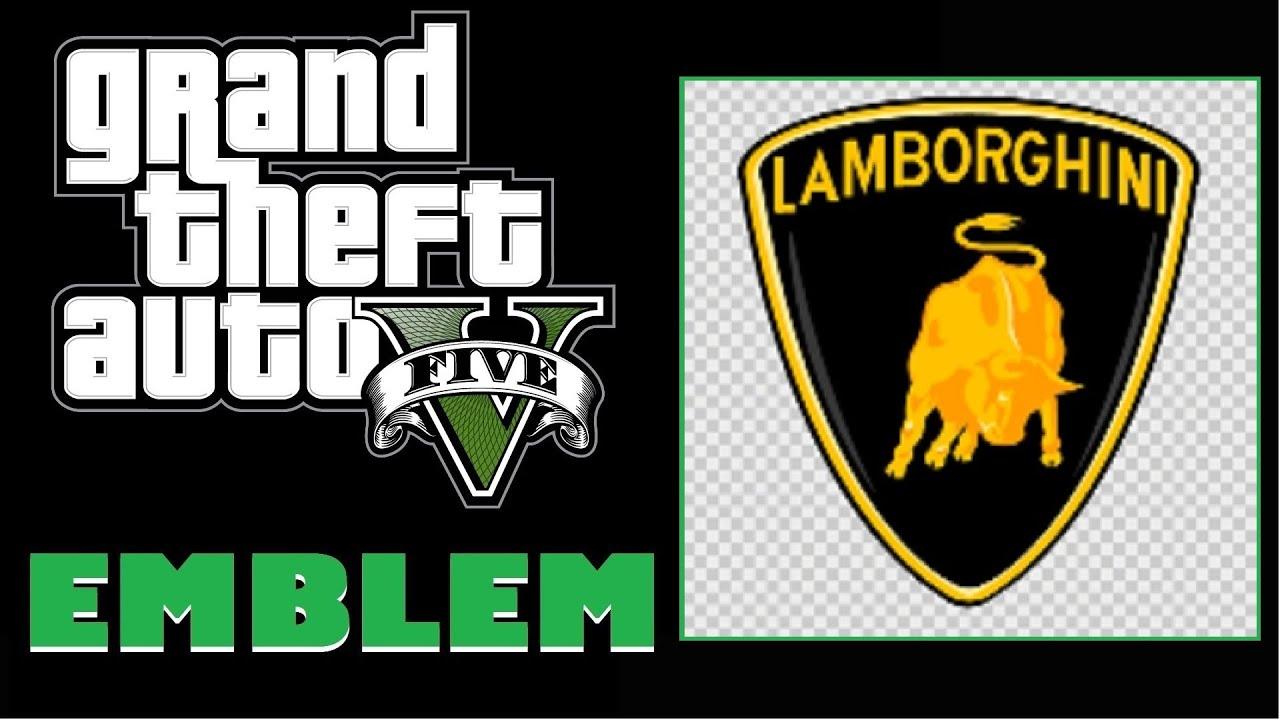 Grand Theft Auto 5 Gta 5 Gta V Lamborghini Logo Emblem