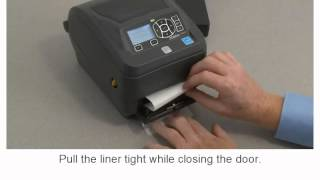 Zebra ZD500 Series: How-to Use the Dispenser