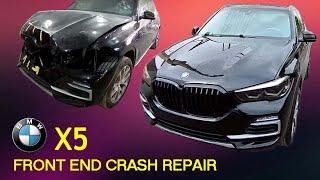 BMW X5 G05  Кузовной ремонт в Армении/Body repair in Armenia видео